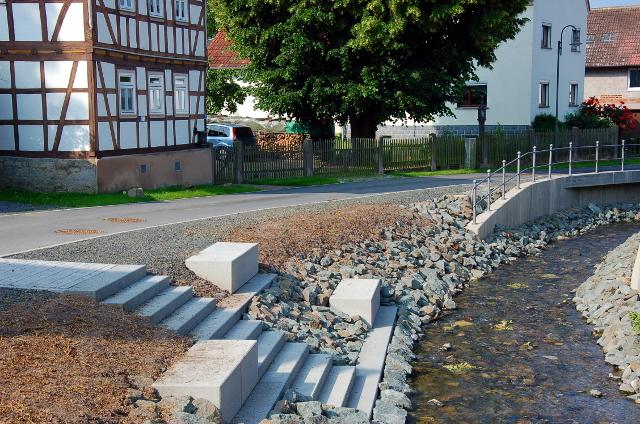 Erneuerung Ufermauer Kranlucken